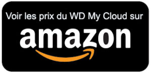 Achat amazon du WD My Cloud