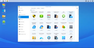 Application Synology ds918+