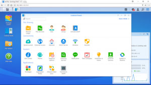 Synology-DS220j-Control-Panel