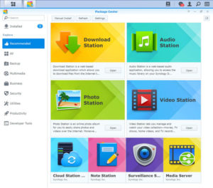 Synology-DSM-App-Store-package-center