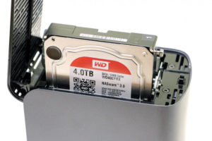 WD My Cloud EX2 Ultra positionnement disques