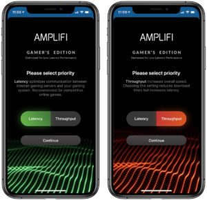 amplifi option gaming