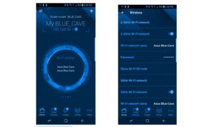 Application Asus Blue Cave