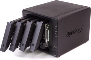 Installation disque dur Synology DS918+